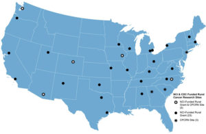 NCI and CDC-funded rural cancer research sites