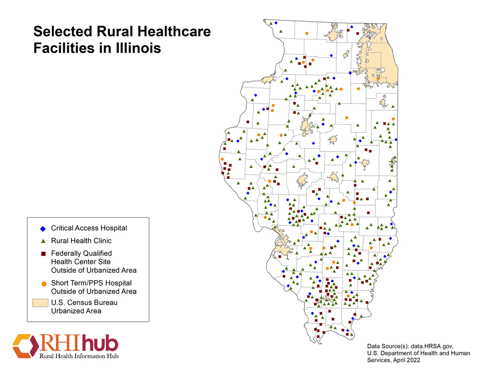Rural health for Illinois Introduction - Rural Health Information Hub