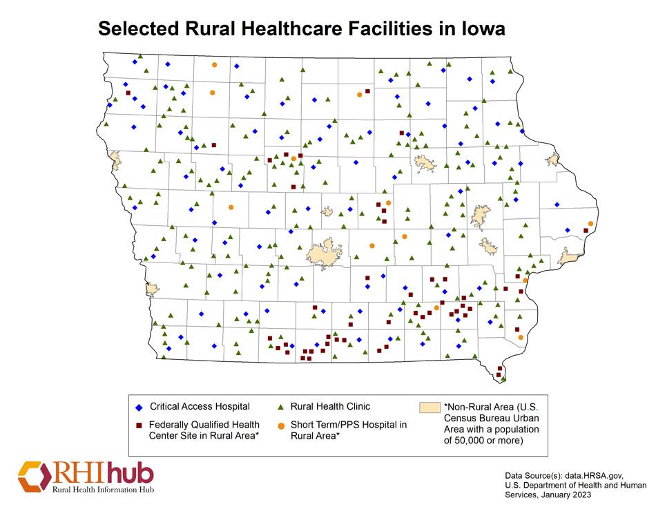 Rural health for Iowa Introduction - Rural Health Information Hub on