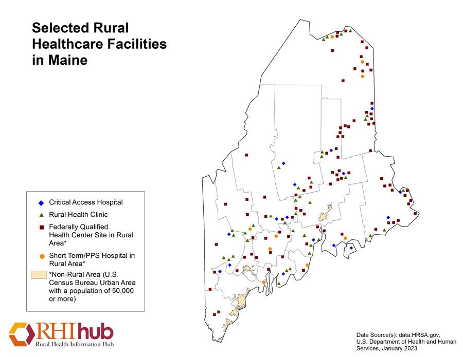 Maine Resources Rural Health Information Hub