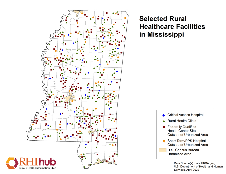 Rural Health For Mississippi Introduction Rural Health Information Hub